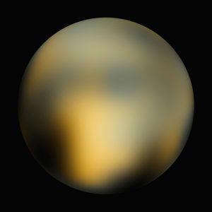 Pluto taken by Hubble